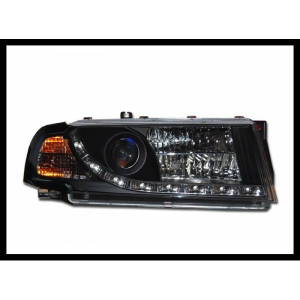 Fanali Day Light Skoda Octavia '01 Black