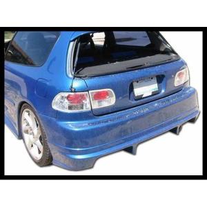 Paraurti Posteriore Honda Civic 92-95 Racing S/Cajetin