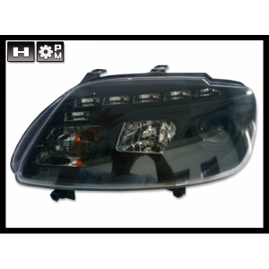 Fanali Day Light Volkswagen Touran '03 / Caddy '05 Black