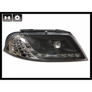 Fanali Day Light Volkswagen Passat '01 Black Int. Led