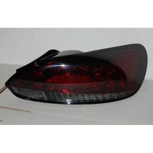Fanali Posteriori Volkswagen Scirocco 08-13 Led Red/Smoked Lampeggiante Led