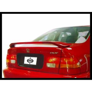 Alettone - Spoiler Honda Civic Coupe 96 99 Con Luce