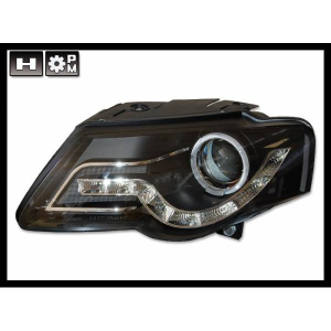 Fanali Day Light Volkswagen Passat '05, Black