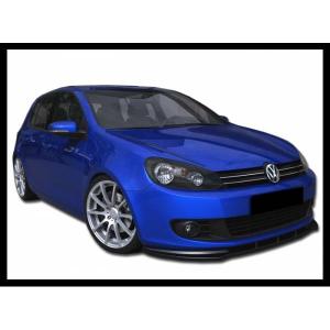 Spoiler Anteriore  Volkswagen Golf 6 ABS