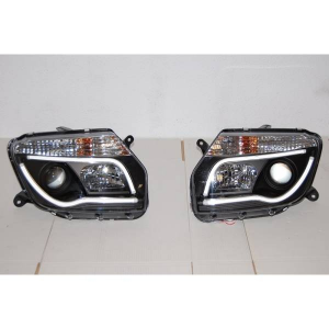 Fari Day Light Dacia Duster 10 Black