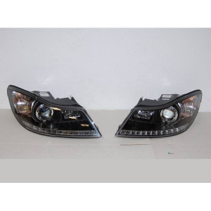 Fanali Day Light Skoda Octavia '09 Black