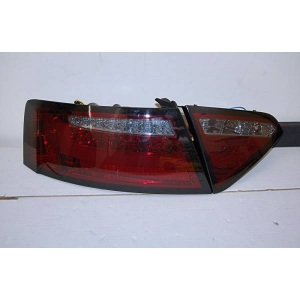 Fanali Posteriori Audi A5 2-4P 07-09 Led Red/Smoked Cardna
