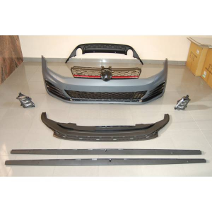 Kit De Estetici Volkswagen Golf 7 GTI  3/5 Porte ABS 2 Scarico