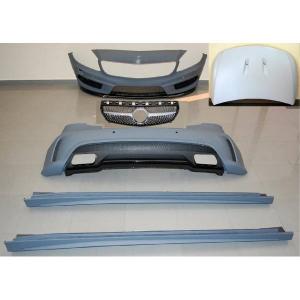 Kit COMPLETI Mercedes W176 A45 2012-2015 Look AMG Sensor Calandra Cofano