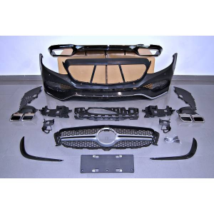 Kit COMPLETI Mercedes W213 4 porte 2016+ look AMG E63