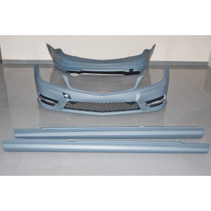 Kit COMPLETI Mercedes W204 4P 2011-2013 Look AMG 1 Scarico