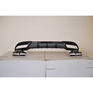 Diffusore Posteriore Mercedes W212 SW / 4P 2014-2015 Look AMG ABS