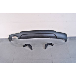 Diffusore Posteriore Mercedes W204 07-13 Look AMG 1 Scarico ABS