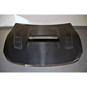 Cofano Carbonio Toyota GT 86 / Subaru BRZ Black C/ Prese