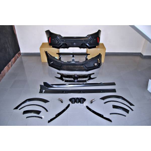 Kit COMPLETI Honda Civic MK10 Sedan 2016+ look Type R ABS