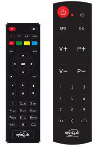 Digiquest DGQ990 HD - Decoder Terrestre Full HD REC - Doppio Telecomando