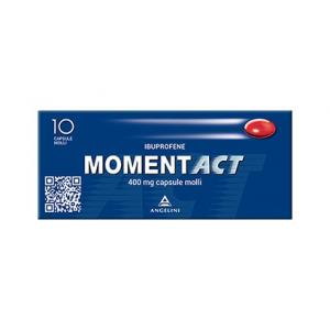 MOMENTACT CAPSULE MOLLI: FARMACO A BASE DI IBUPROFENE 400 MG