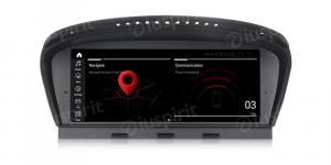 ANDROID 10 navigatore per BMW Serie 3 E90 E91 E92 BMW Serie 5 E60 E63 E64 Sistema originale CIC WI-FI GPS 4G LTE Bluetooth MirrorLink 4GB RAM 64GB ROM