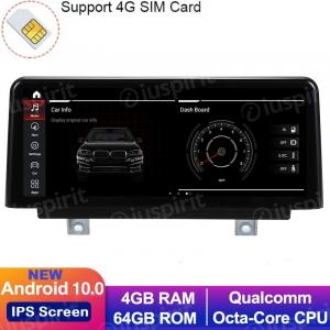 ANDROID 10 navigatore per BMW Serie 3 F30 F31 F34, BMW serie 4 F32 F33 F36 2013-2017 Sistema originale NBT 10.25 pollici WI-FI GPS 4G LTE Bluetooth MirrorLink 4GB RAM 64GB ROM