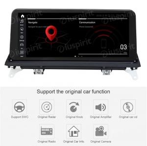 ANDROID 10 navigatore per BMW X5 E70, BMW X6 E71 2011-2013 Sistema originale CIC 10.25 pollici WI-FI GPS 4G LTE Bluetooth MirrorLink 4GB RAM 64GB ROM