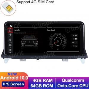 ANDROID 10 navigatore per BMW X5 E70, BMW X6 E71 2007-2010 Sistema originale CCC 10.25 pollici WI-FI GPS 4G LTE Bluetooth MirrorLink 4GB RAM 64GB ROM