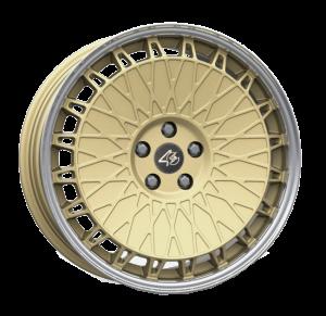 Cerchi in lega  ETABETA  Eb40  19''  Width 8,5   5x112  ET 45  CB 73,06    Matt Gold Lip Polish