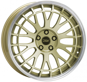 Cerchi in lega  ETABETA  Unit  19''  Width 8,5   5x108  ET 45  CB 78,1    Shiny Gold Lip Polish