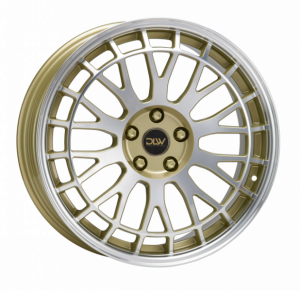 Cerchi in lega  ETABETA  Unit  19''  Width 8,5   5x112  ET 25  CB 78,1    Shiny Gold Lip+Face Polish