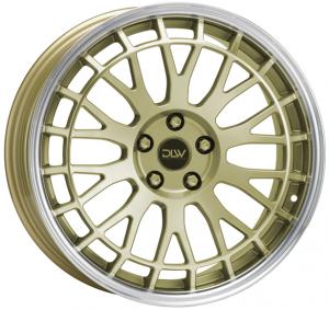 Cerchi in lega  ETABETA  Unit  21''  Width 9   5x112  ET 38  CB 78,1    Shiny Gold Lip Polish