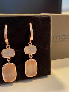 Orecchini Madì- argento 925% rosè
