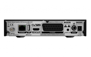 Strong SRT 7007 set-top box TV Satellite Full HD Nero