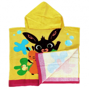 Beach towel for girl Tweety 70x140 cm with pink beach backpack