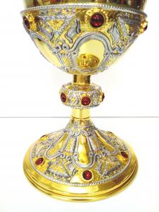 Calice Liturgico del tipo St.Remy S.Remigio interamente in Argento massiccio