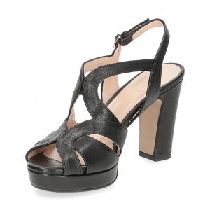Il Laccio sandalo 3046 pelle nero-4
