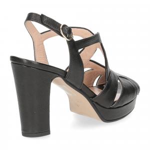 Il Laccio sandalo 3046 pelle nero-5