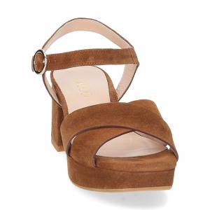 Il Laccio sandalo 6213 camoscio marrone-3