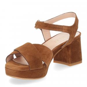 Il Laccio sandalo 6213 camoscio marrone-4