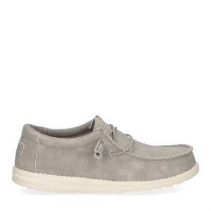 Hey Dude Wally recycled leather grey-2