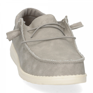 Hey Dude Wally recycled leather grey-3