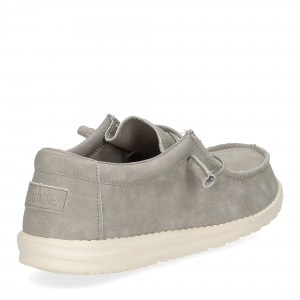 Hey Dude Wally recycled leather grey-5