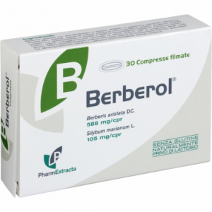 BERBEROL - INTEGRATORE A BASE DI BERBERINA PER I NORMALI VALORI DI COLESTEROLO