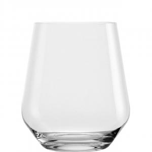 Set 6 bicchieri acqua in vetro cristallo, 470 ml Revolution cm.10,9h diam.9,2