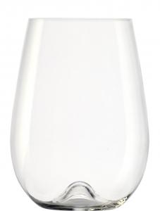 Set 6 bicchieri in vetro cristallino 707 ml Vulcano cm.13,3h diam.9,6