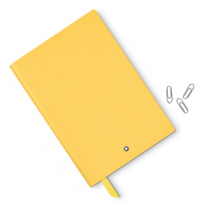 Blocco note Montblanc #163 giallo senape