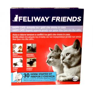 FELIWAY FRIENDS (DIFFUSORE + RICARICA 48 ML) - ARMONIA TRA GATTI CHE VIVONO IN CASA- CEVA