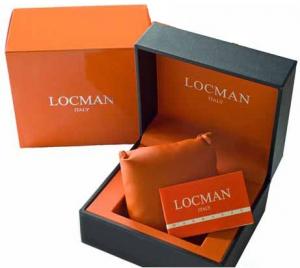 Locman Sport Anniversary Solo Tempo Blu e Nero