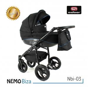 NEMO BIZA - nuovissimo trio moderno - elegante, comodo ed a portata di ogni budget.