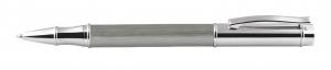 Penna roller grigia cm.13x1,2x1,2h