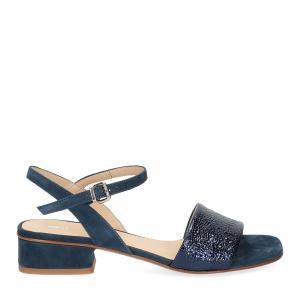 Andrea Schuster sandalo 310 in camoscio blu-2