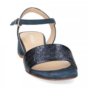 Andrea Schuster sandalo 310 in camoscio blu-3